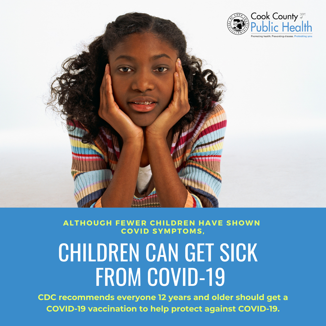 Children can get sick from COVID-19